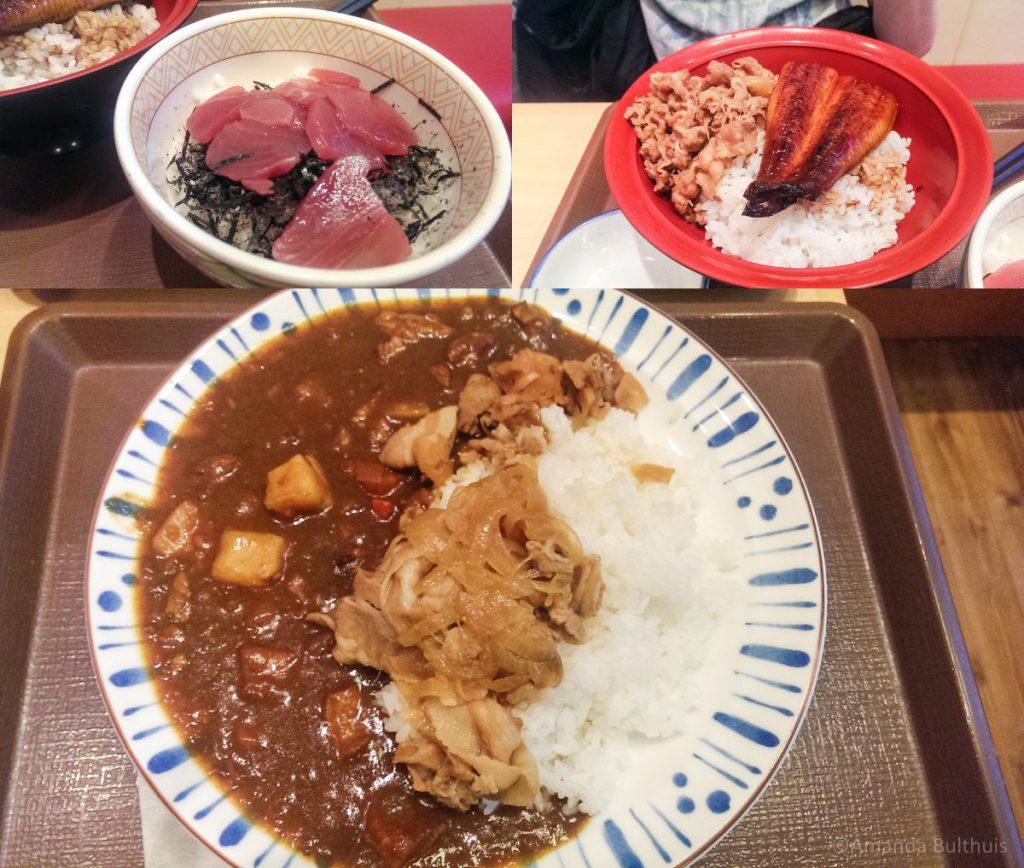 Eten bij Sukija Kyoto