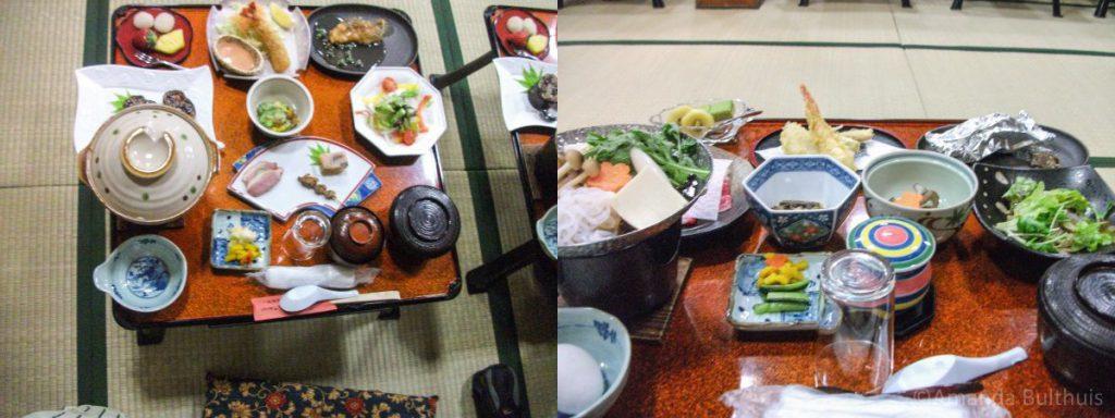Traditioneel Japans eten