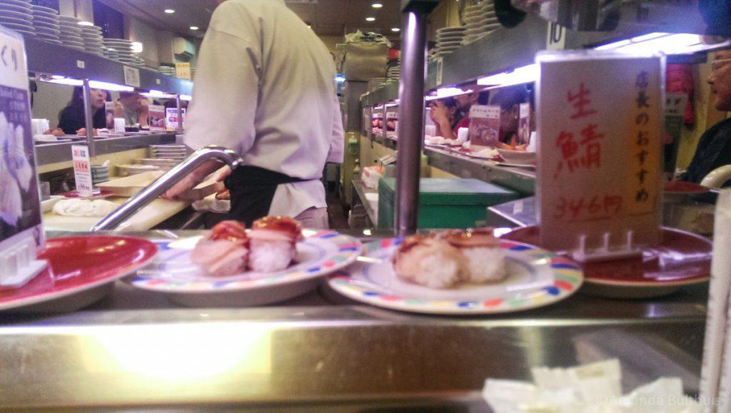 Kaiten sushi Kyoto