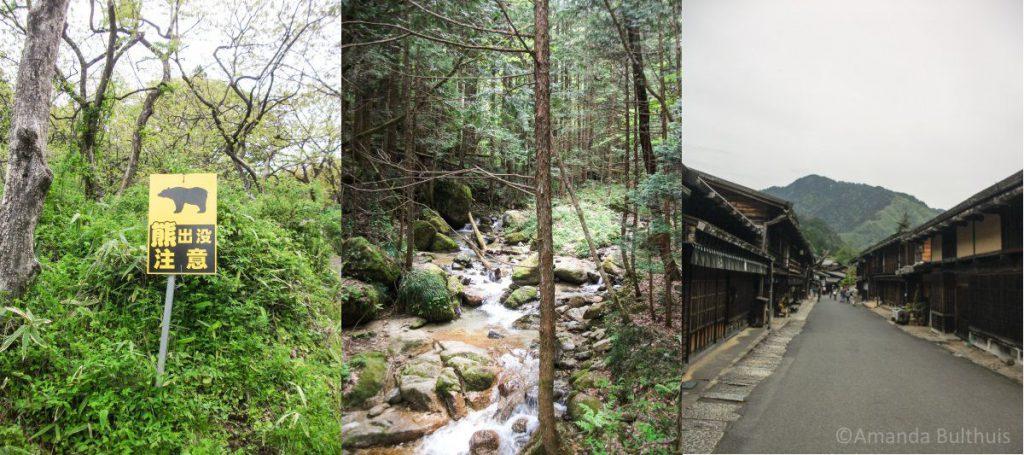 Wandeling Magome - Tsumago, Japan