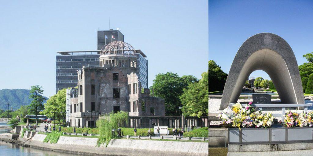 Atom Bomb Dome en Peace Memorial Parc Hiroshima