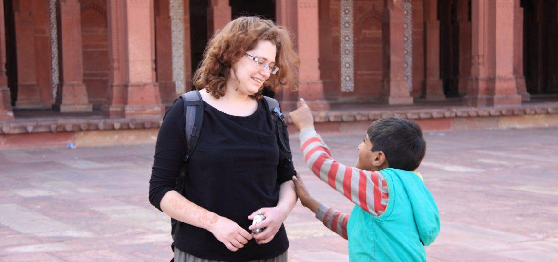 Kind in Fatehpur Sikri