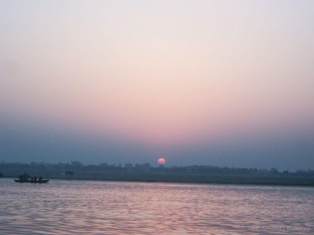Zonsopkomst Ganges Varanasi
