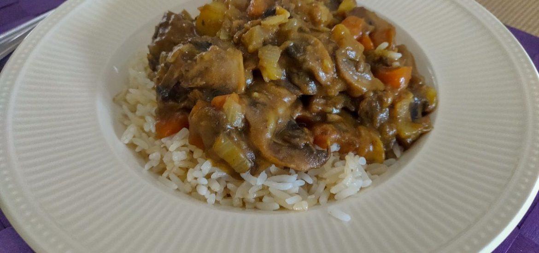 Japanse curry met rijst