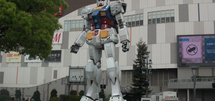 Gundam-robot Tokio