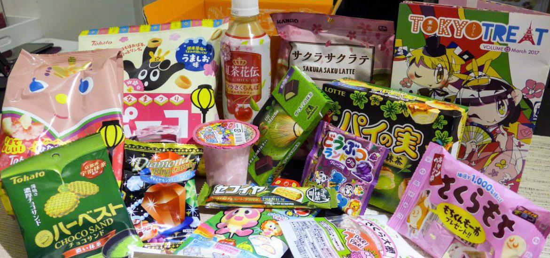 Japans snoep pakket