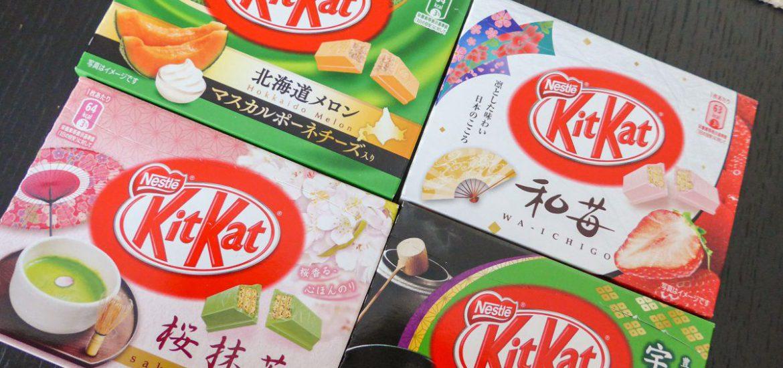 Japanse Kitkats