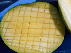 Mango insnijden