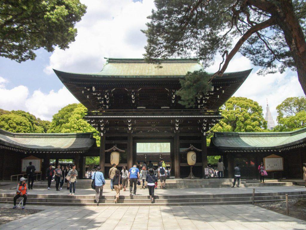Meji Shrine Tokio