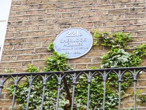 221b Bakerstreet, Londen