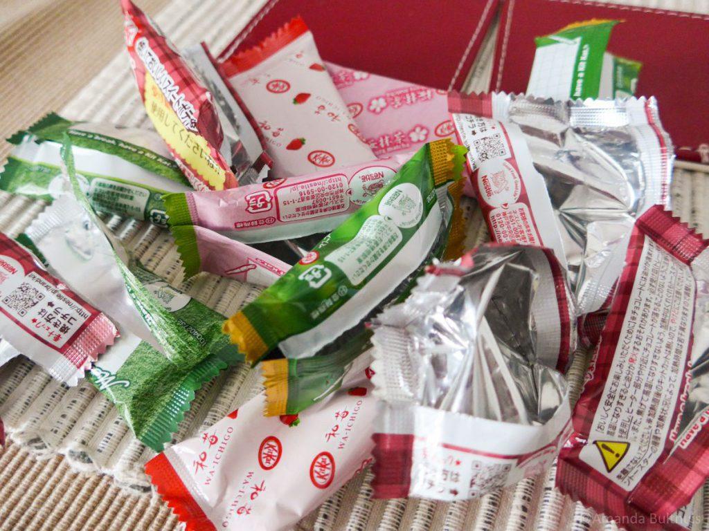 KitKat papiertjes