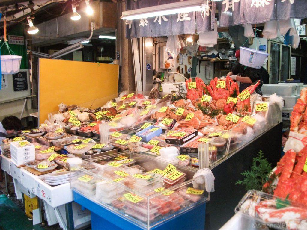 Tsukiji Fish Market Tokio