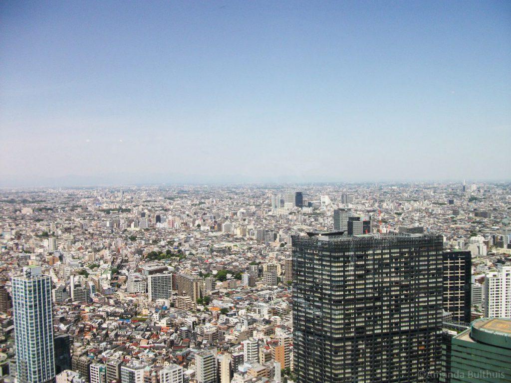 Uitzicht over Tokio