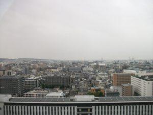 Uitzicht vanaf Kyoto Station