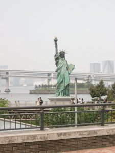 Vrijheidsbeeld in Tokio