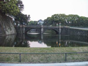 Brug bij Imperial Palace Tokio
