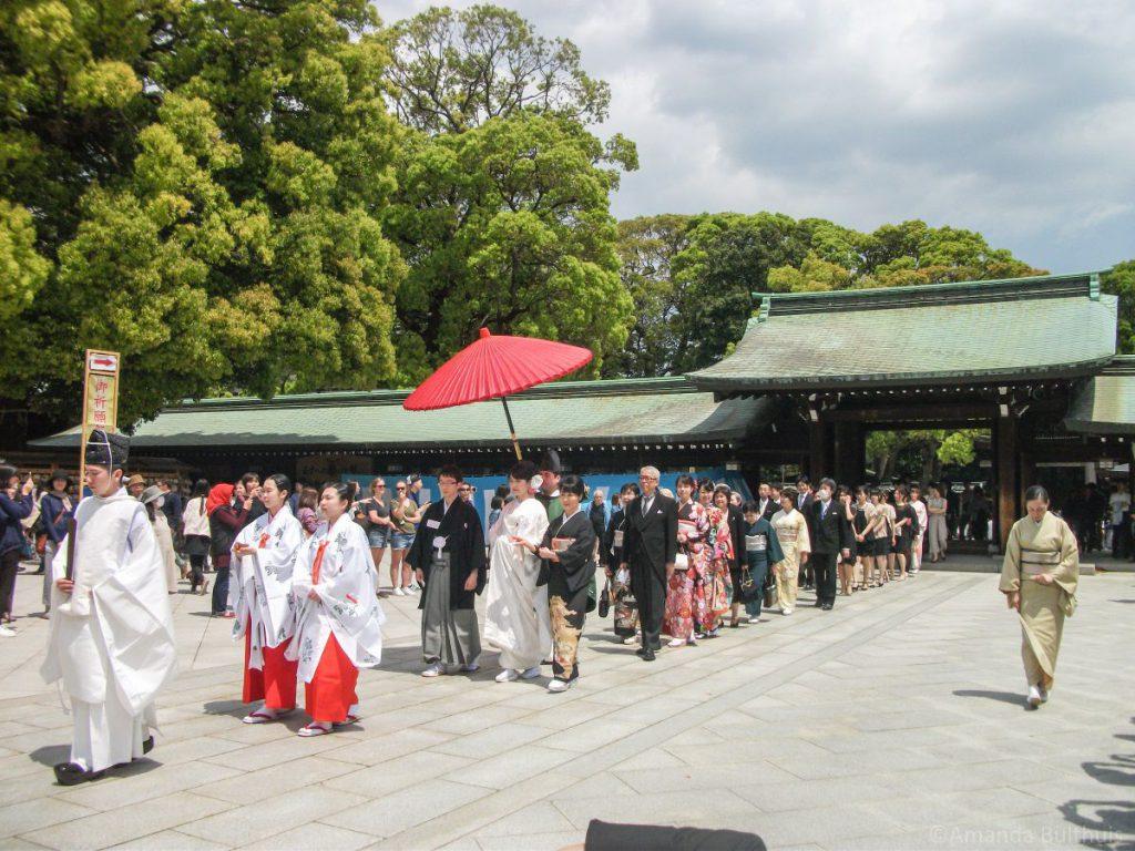 Bruiloft Meji-Ju Tokio