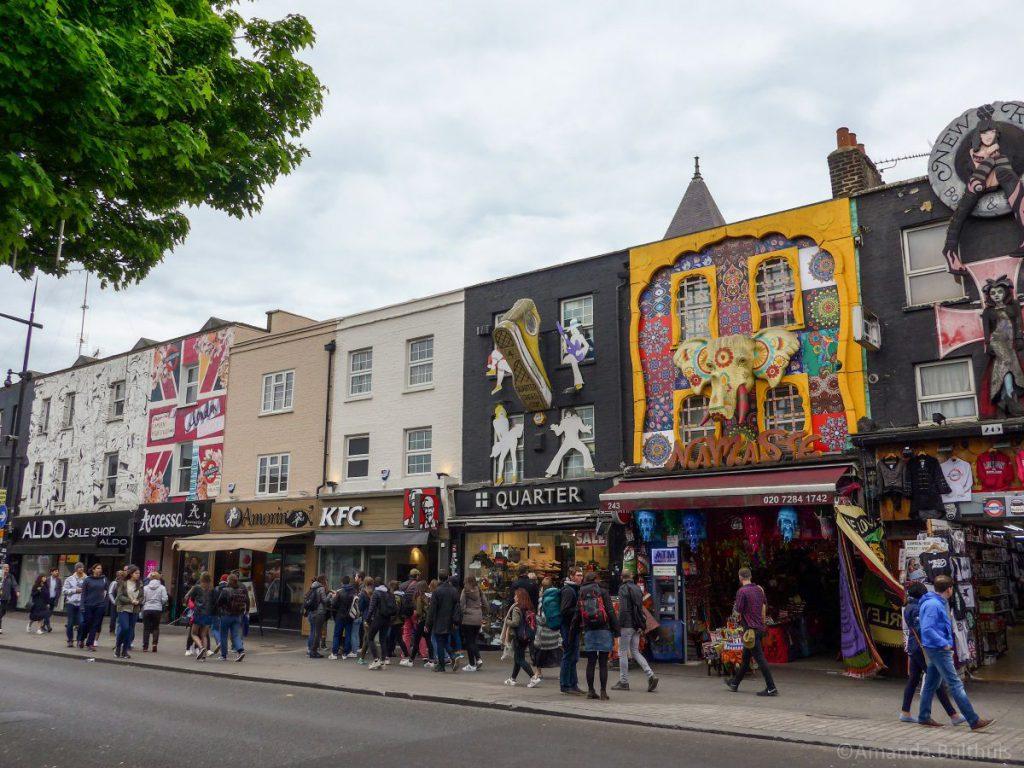 Winkels in Camden Town