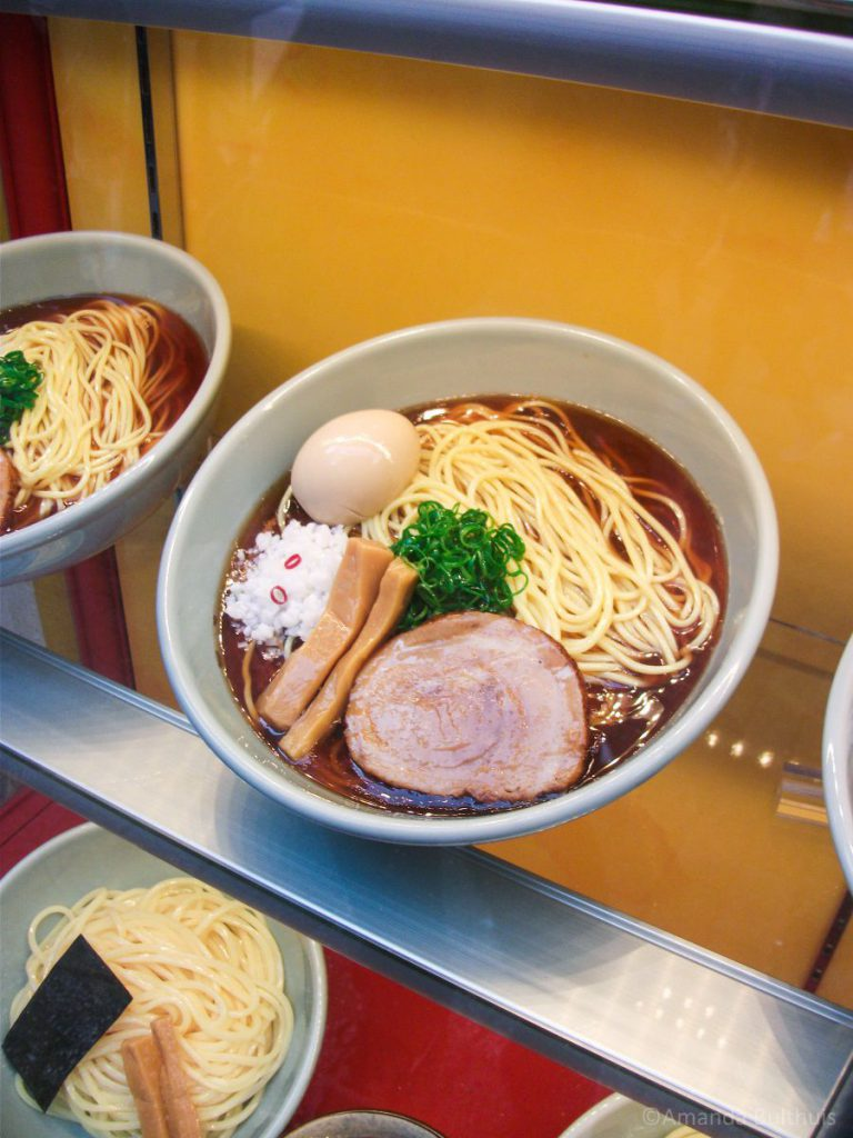 Fake food ramen Shibuya