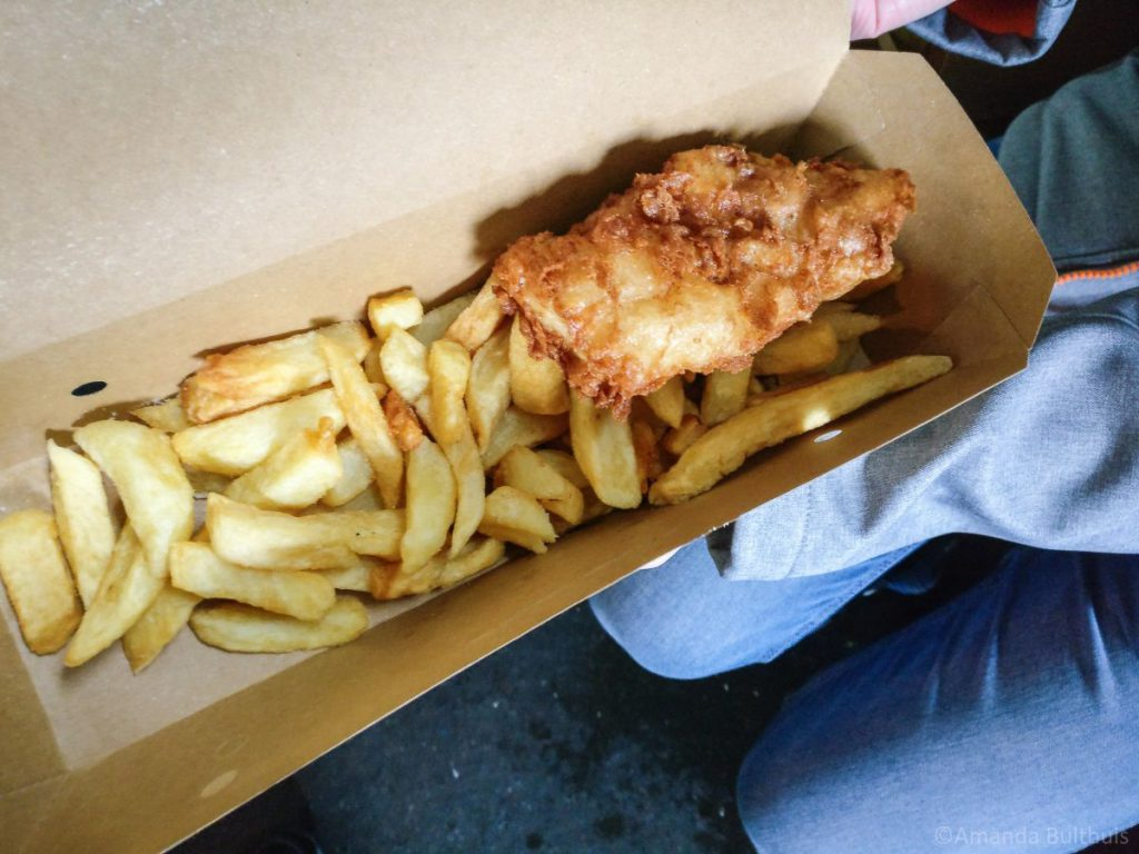 Fish and Chips, Borough's Market, Londen