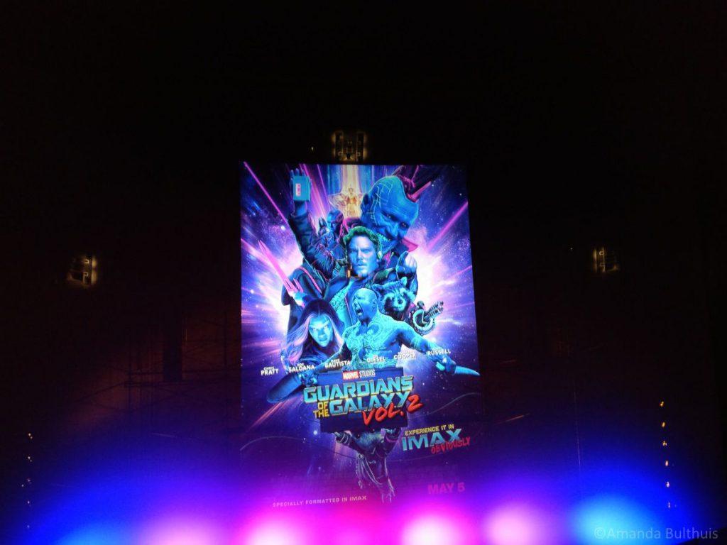 Guardians of The Galaxy II, Bioscoop Londen
