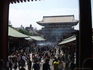 Kraampjes bij Senso-Ji Tempel