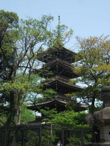 Pagoda of Kanei-ji