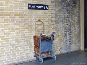 Platform 9 3/4, Londen