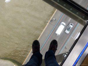 Glazen vloer Tower Bridge