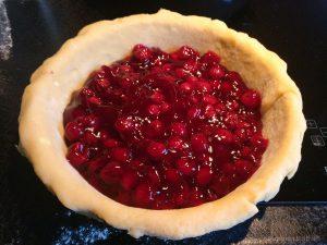 Cherry pie maken