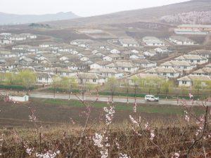 Uitzicht over de Chonsang Farm