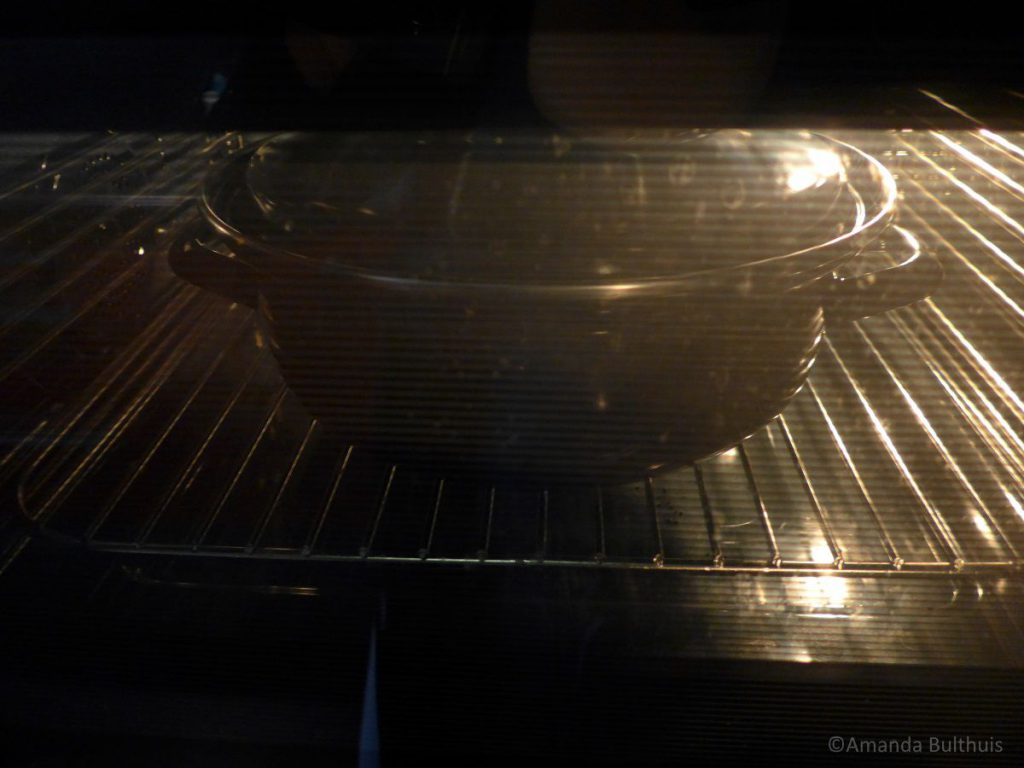 Ierse beef stew in oven
