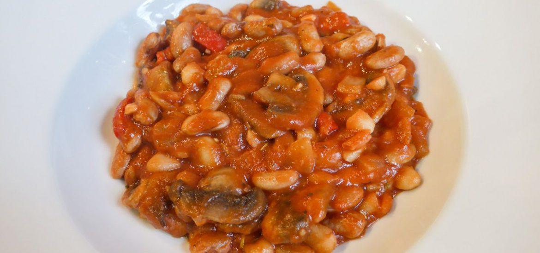 Italiaanse bonenschotel