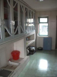 Keuken in huis Chonsang Farm