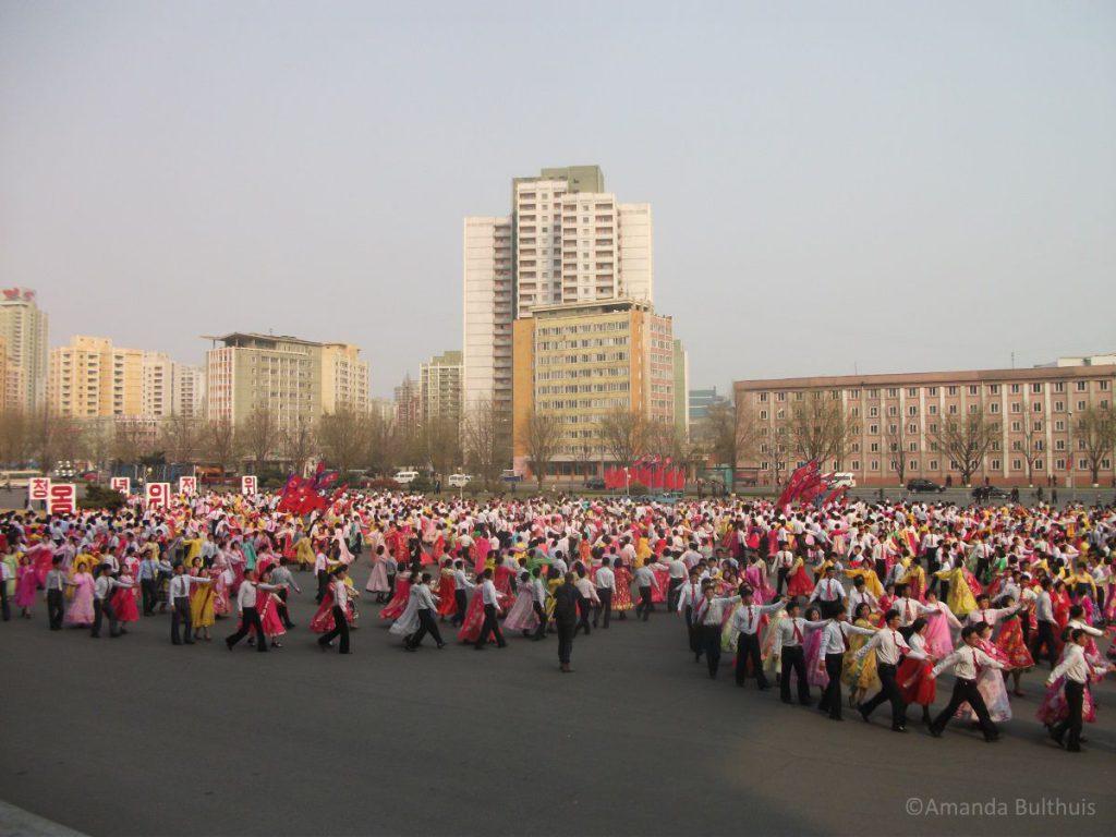 Mass Dances in Pyongyang