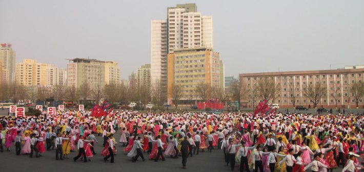 Mass Dances in Pyongyang