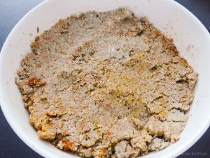 Quinoa linzen purree