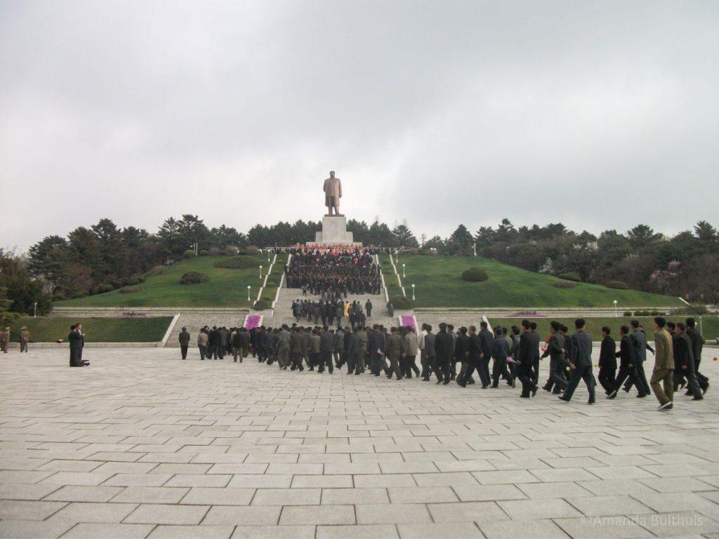 Standbeeld Kim Il Sung Kaesong