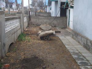 Tuin bij huis Chonsang Farm
