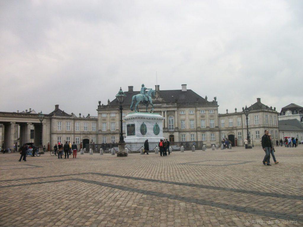 Amalienborg Kopenhagen, Denemarken
