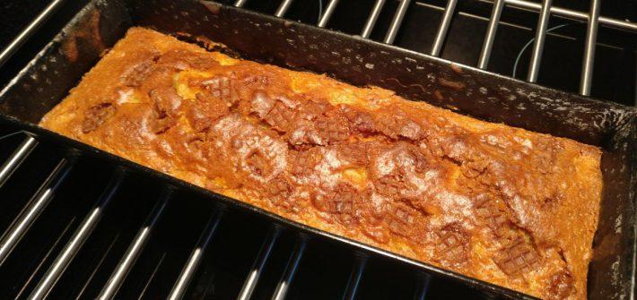 Appel stroopwafel cake