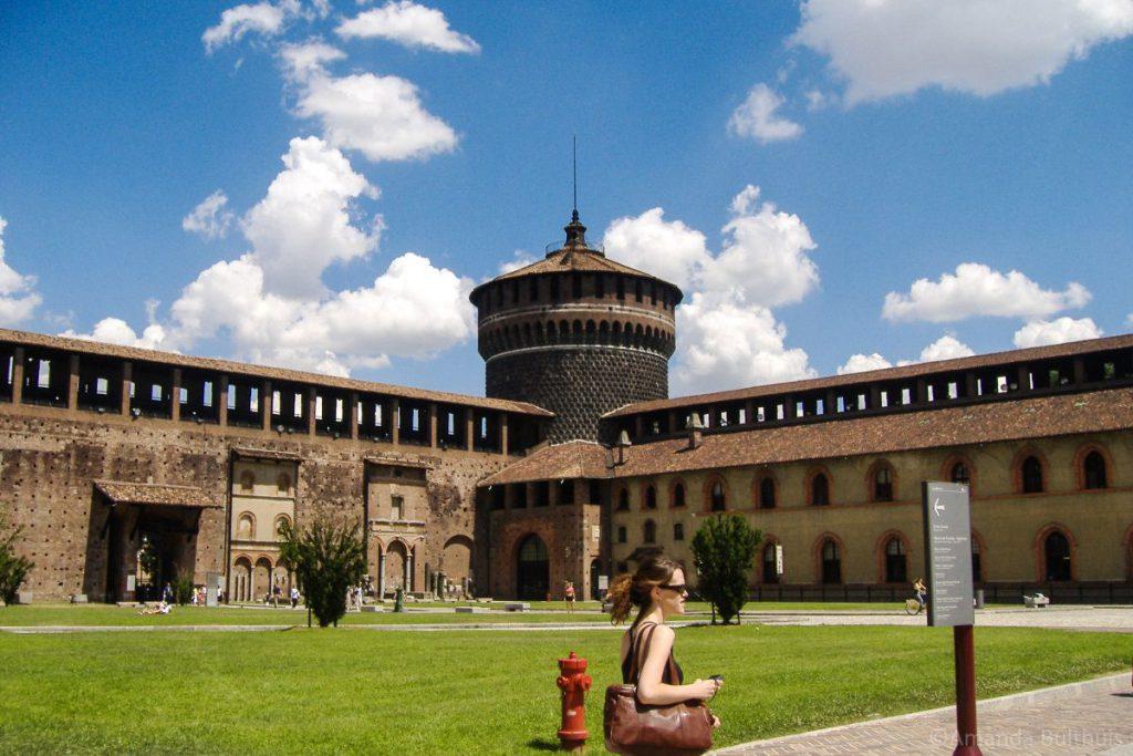 Castello Sforzesco, Milaan