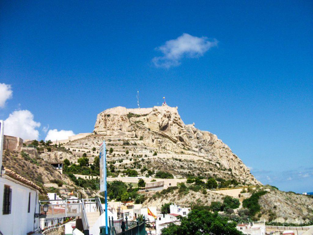 Castillo Santa Barbara, Alicante