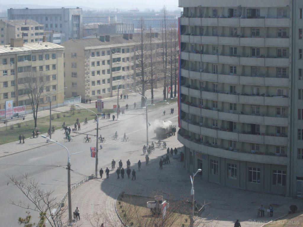 Centrum van Hamhung, Noord-Korea
