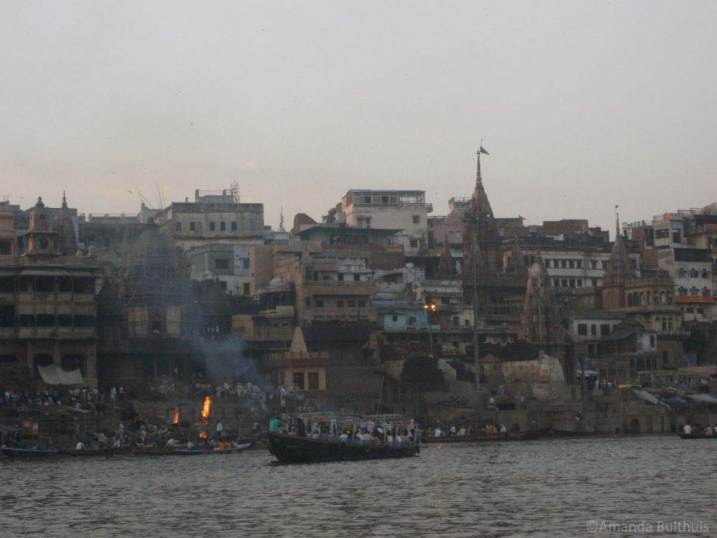 Crematie Ganges Varanasi