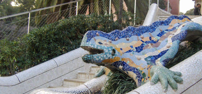Hagedis, Parc Guell Barcelona