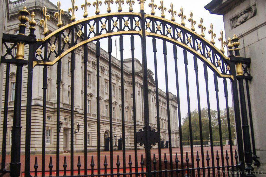 Hek Buckingham Palace Londen