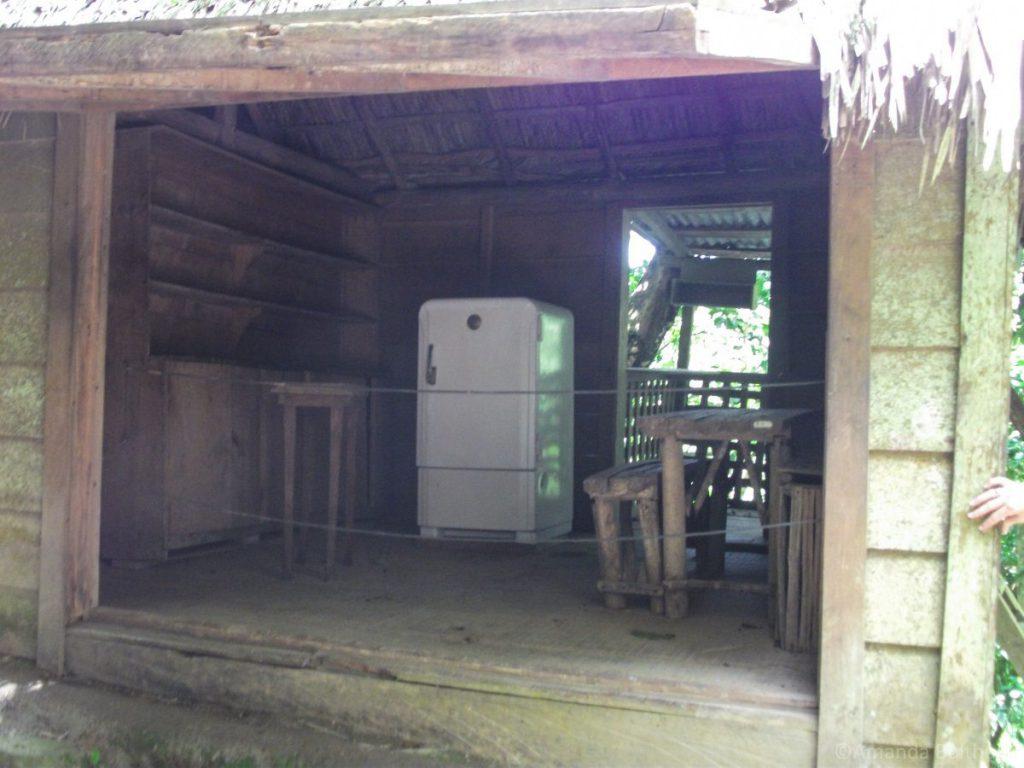Inrichting hut Fidel Castro, Rebellenhoofdkwartier Sierra Maestra