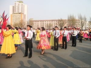 Mass Dances Pyongyang
