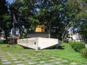 Monument Tren Blindado, Santa Clara